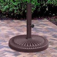 Weather Resistent 66 Pound Bronze Umbrella Base