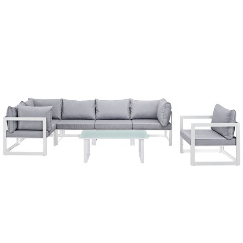 Chance 7-piece Outdoor Patio Sectional Sofa Set