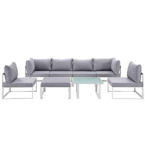 Chance 8-piece Outdoor Patio Sectional Sofa Set