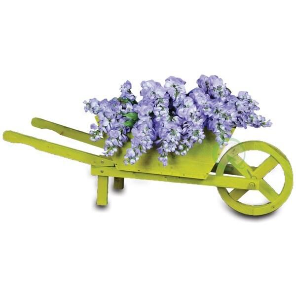 Wooden Wheelbarrow Farm Cart Planter