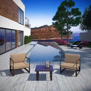Chance 3-piece Outdoor Patio Sectional Sofa Set