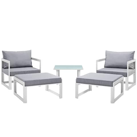 Chance 5-piece Outdoor Patio Sectional Sofa Set