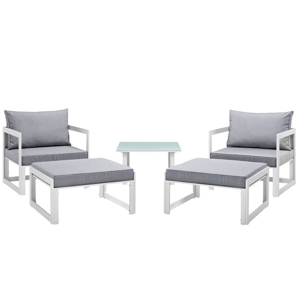 Chance 5-piece Outdoor Patio Sectional Sofa Set. Opens flyout.