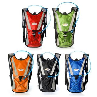 Sport Force Nylon 2-liter Multi-function Hydration Backpack