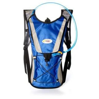 Sport Force Nylon 2-liter Multi-function Hydration Backpack (Option: Blue)