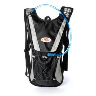 Sport Force Nylon 2-liter Multi-function Hydration Backpack (Option: Black)