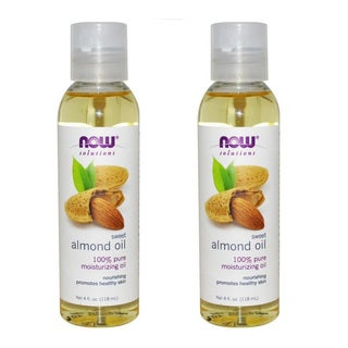 Now Foods Solutions 4-ounce Sweet Almond Oil (Pack of 2)