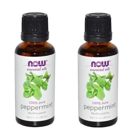 Now Foods 1-ounce Peppermint Essential Oil