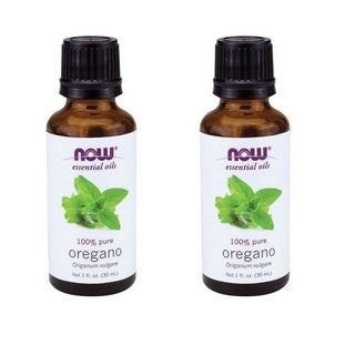 Now Foods 1-ounce Oregano Oil Essential Oil (Pack of 2)