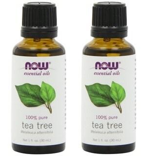 Now Foods Tea Tree Essential Oil (Pack of 2)