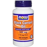 Now Foods Black Currant Oil (100 Softgels)