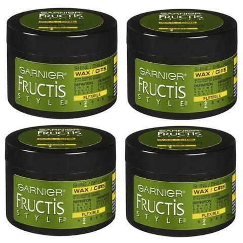 Garnier Fructis Flexible #2 Style Shine Wax (Pack of 4)