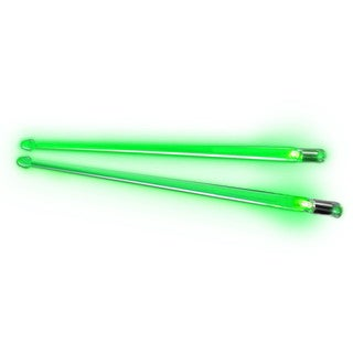 Firestix Green Light Up Drumsticks