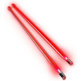 Firestix Red Light Up Drumsticks