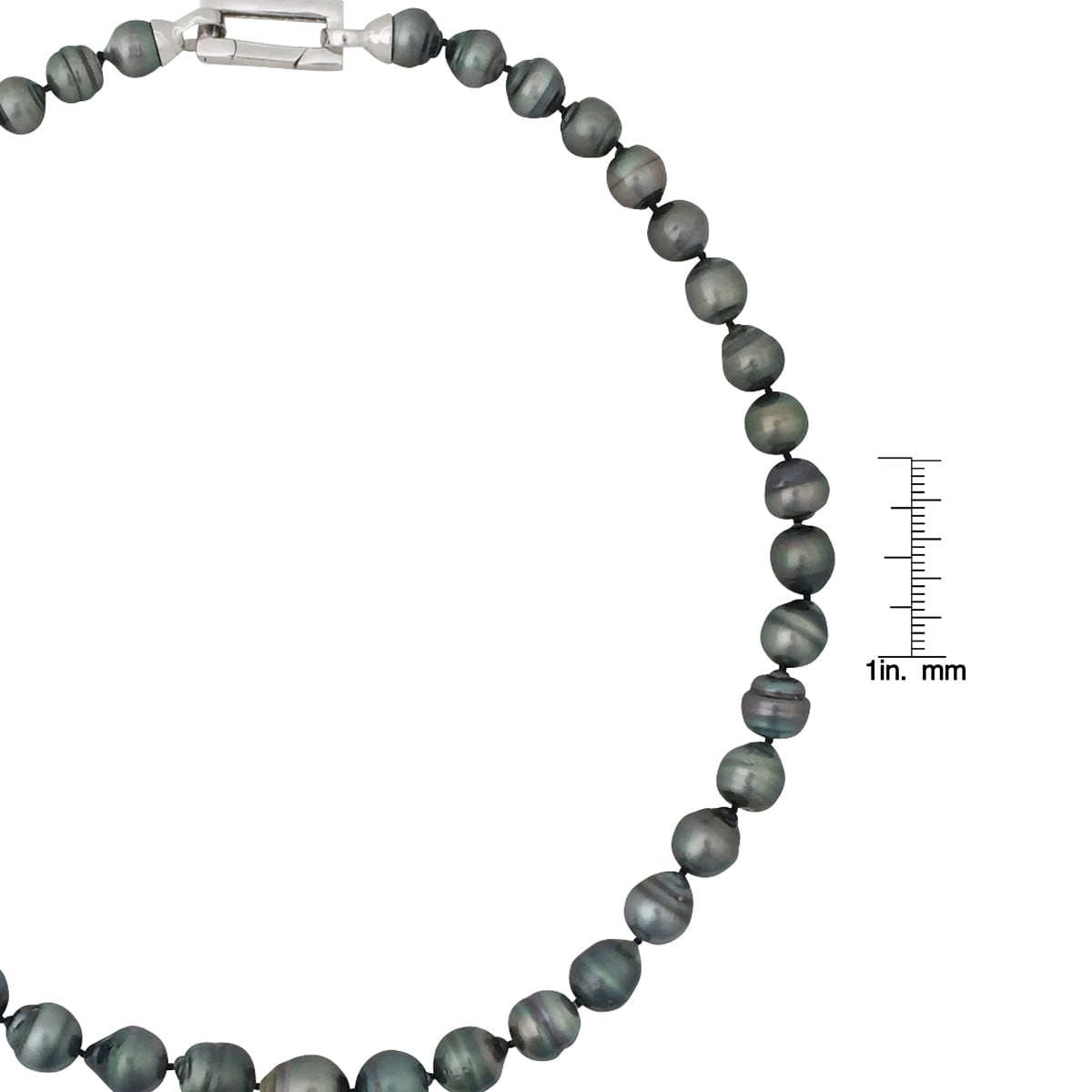 Sense Unique Sterling Silver Necklace with 8-8.5mm freshwater cultured Pearl