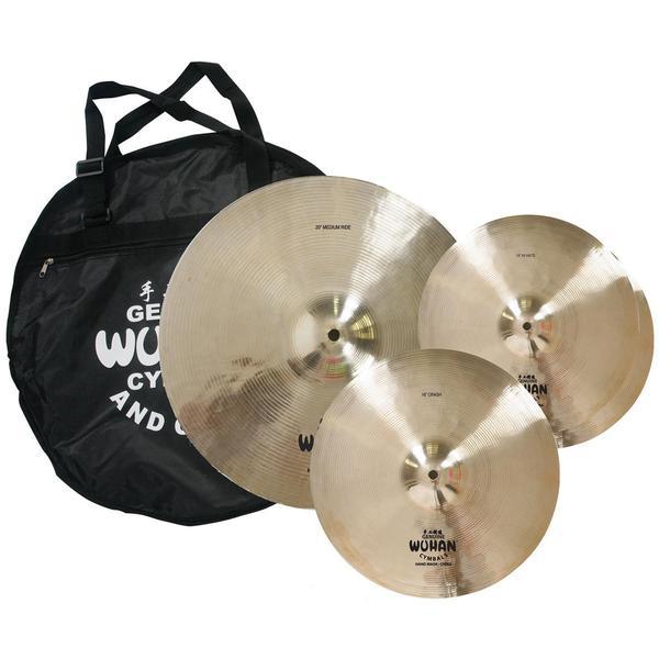 Wuhan Western Style Cymbal Set with Cymbal Bag