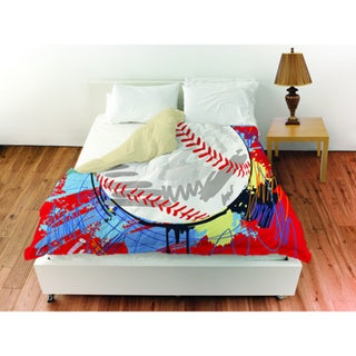 Baseball Homerun Duvet Cover