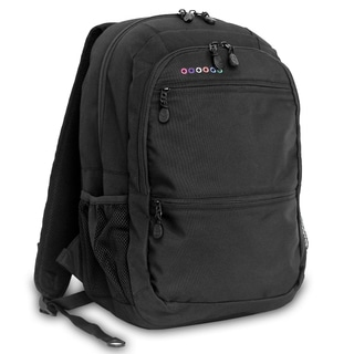 J World New York Dexter Black 15-inch Laptop Backpack