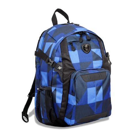 J World New York Haid Block 15-inch Laptop Backpack