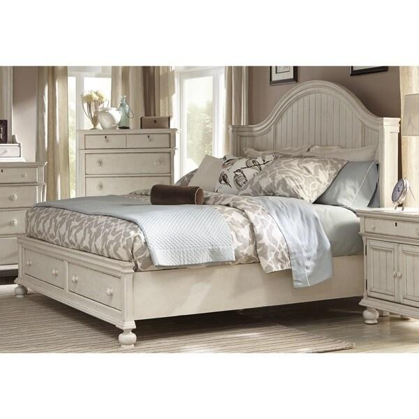 Laguna Antique White Storage Bed by Greyson Living