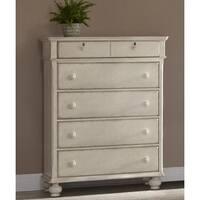 Laguna Antique White 5-drawer Chest by Greyson Living