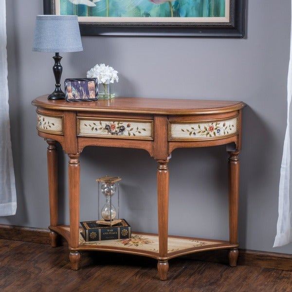 Christopher knight home mckinley wood console table free