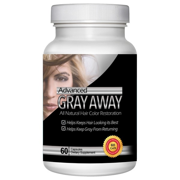 Totally Products Advanced Gray Away Natural Catalase Enhancer 60