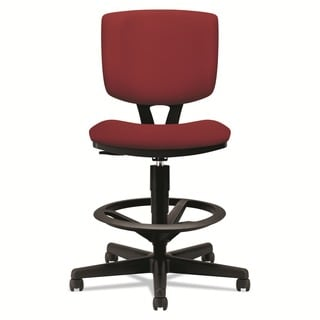 HON Volt Series Crimson Fabric Adjustable Task Stool