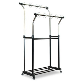 Carson-Dellosa Publishing Black/ Chrome Double Pocket Chart Stand
