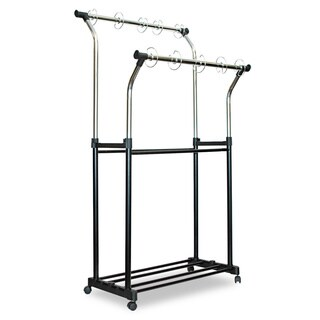 Carson-Dellosa Publishing Black/ Chrome Double Pocket Chart Stand|https://ak1.ostkcdn.com/images/products/10066408/P17210887.jpg?_ostk_perf_=percv&impolicy=medium