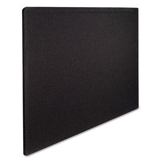 Oval Office Black Fabric Bulletin Board