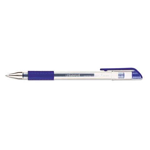 Universal Blue Ink Roller Ball Stick Gel Pen (5 Packs of 12)