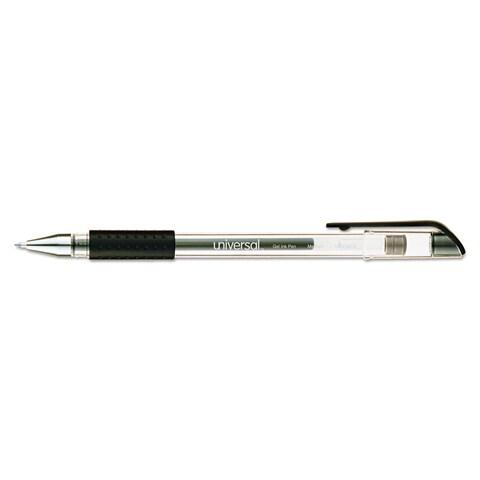 Universal Black Ink Roller Ball Stick Gel Pen (5 Packs of 12)