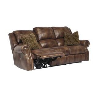 SB Signature Design by Ashley Walworth Auburn Reclining Sofa