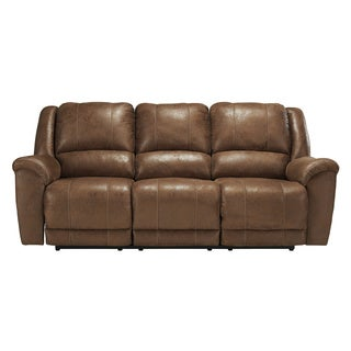 Signature Design by Ashley Niarobi Saddle Reclining Sofa