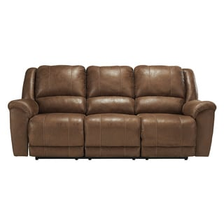 Signature Design By Ashley Niarobi Saddle Reclining Sofa