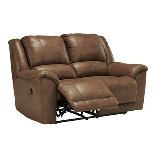 Signature Design by Ashley Niarobi Saddle Reclining Loveseat