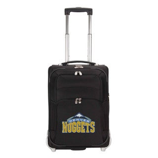 Denco Sports Luggage NBA Denver Nuggets 21-inch Carry On Upright Suitcase