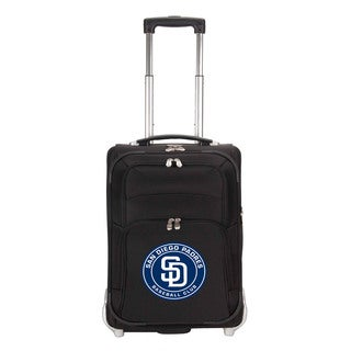 Denco Sports Luggage MLB San Diego Padres 21-inch Carry On Upright Suitcase