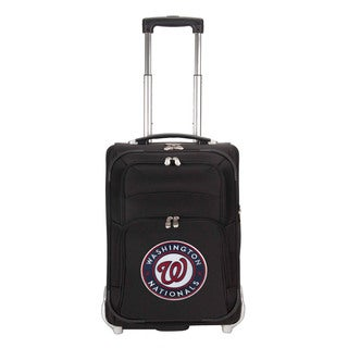 Denco Sports Luggage MLB Washington Nationals 21-inch Carry On Upright Suitcase