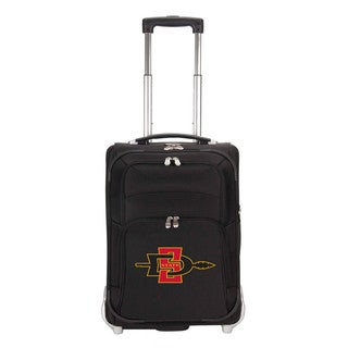 Denco Sports Luggage NCAA San Diego St Aztecs 21-inch Carry On Upright Suitcase