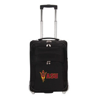 Denco Sports Luggage NCAA Arizona State Sun Devils 21-inch Carry On Upright Suitcase