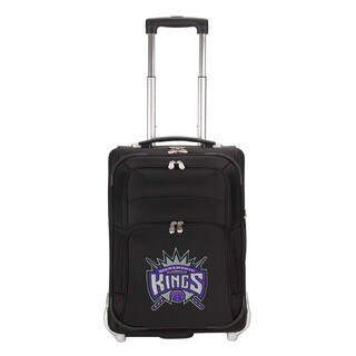 Denco Sports Luggage NBA Sacremento Kings 21-inch Carry On Upright Suitcase