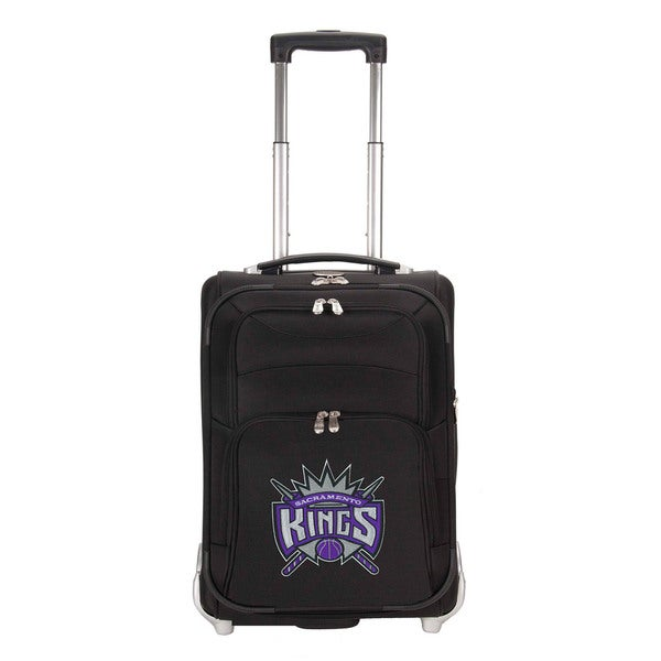 Denco Sports Luggage NBA Sacremento Kings 21-inch Carry On Upright Suitcase