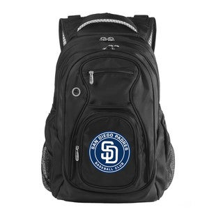 Denco Sports MLB San Diego Padres 17.5-inch Laptop Backpack