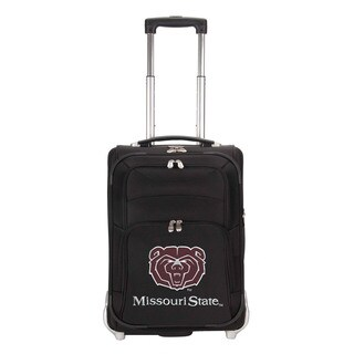 Denco Sports Luggage NCAA Missouri St. 21-inch Carry On Upright Suitcase