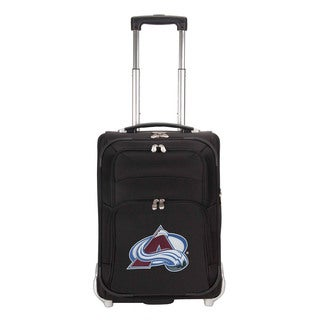 Denco Sports Luggage NHL Colorado Avalanche 21-inch Carry On Upright Suitcase