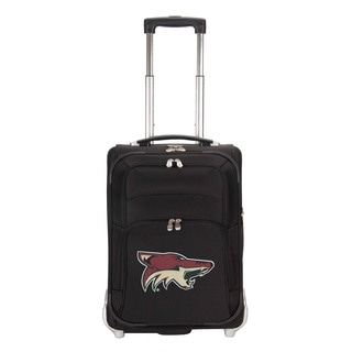 Denco Sports Luggage NHL Arizona Coyotes 21-inch Carry On Upright Suitcase