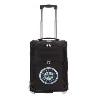 Denco Sports Luggage MLB Seattle Mariners 21-inch Carry On Upright Suitcase