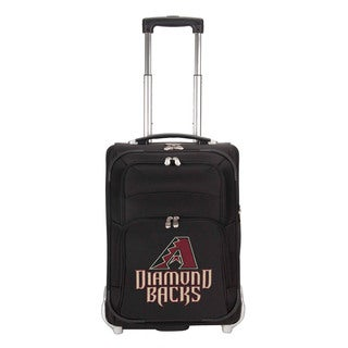 Denco Sports Luggage MLB Arizona Diamondbacks 21-inch Carry On Upright Suitcase